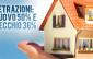 Detrazione 36 e 50%: come mantenerla al venditore dell'immobile