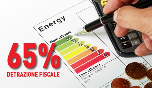 Detrazione 65 risparmio energetico